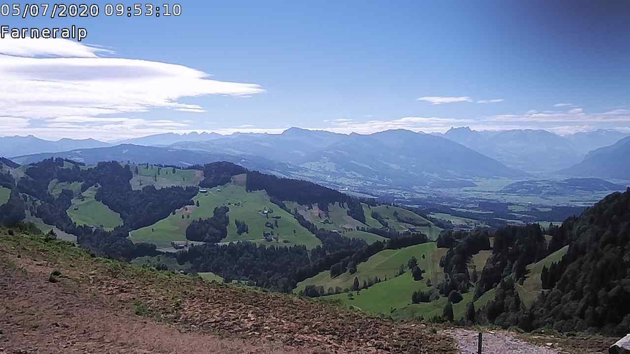 Eschenbach: Farneralp - Goldingen - Linthebenemelioration - Mürtschenstock - Churfirsten