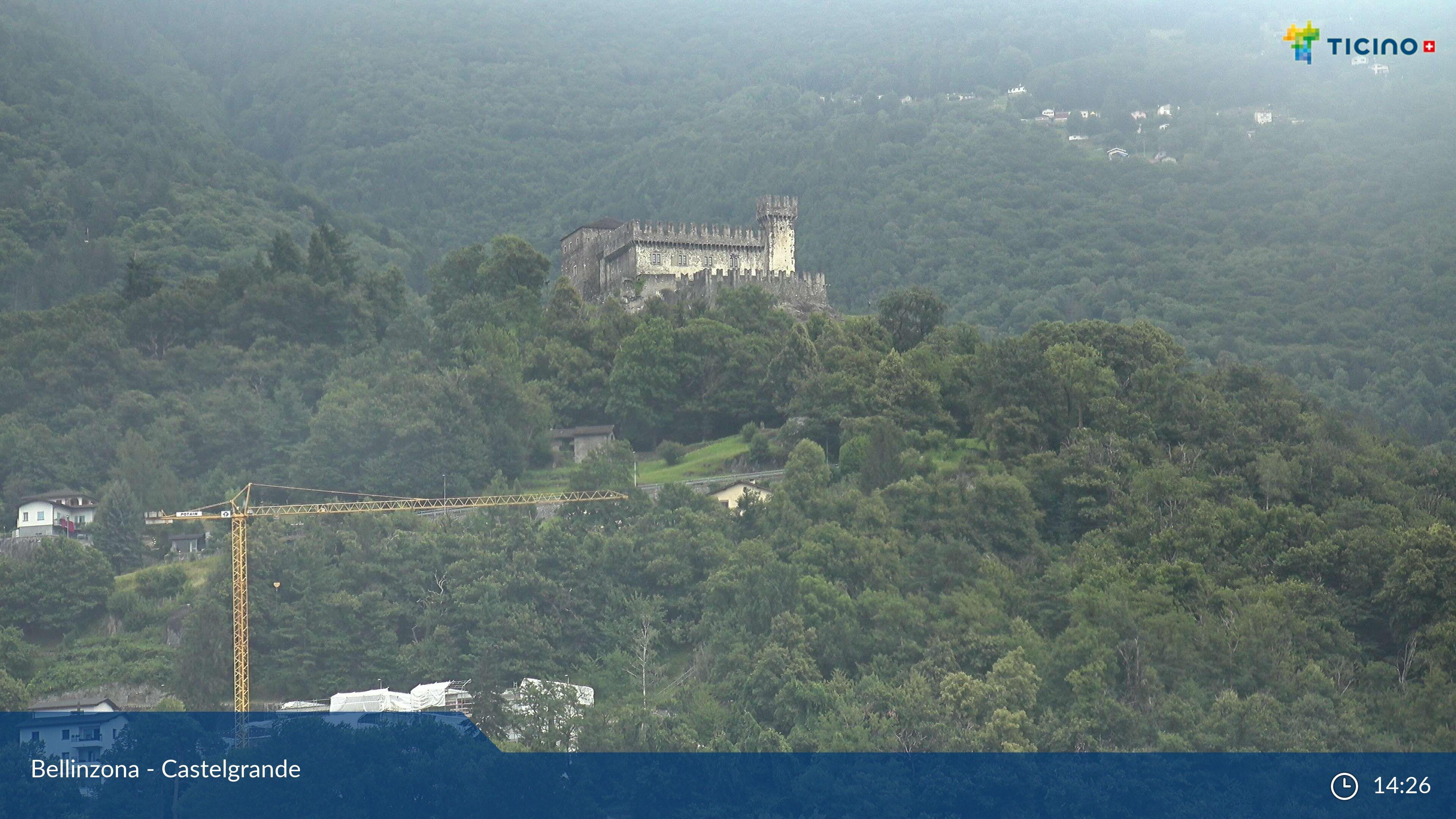 Bellinzona: Castelgrande, Castello Sasso Corbaro
