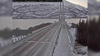 Laukvik: E H�logalandsbrua (Retning Narvik) - El día