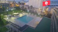 Palma: Hotel Helios Can Pastilla garden-pool webcam