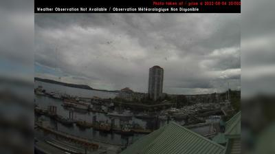 Daylight webcam view from Nanaimo: Harbour east