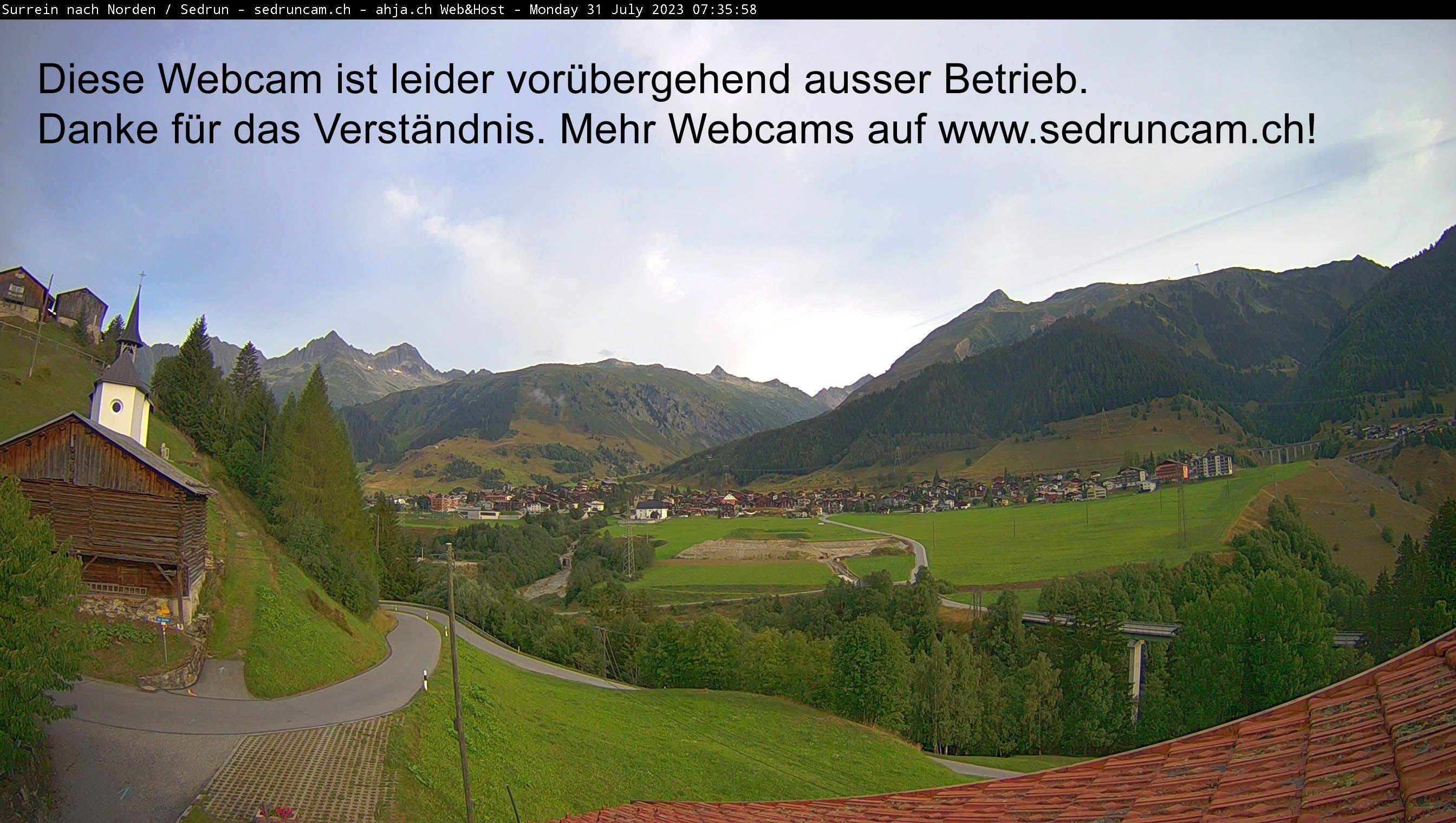 Sedrun: Via Surrein - Tujetsch - Via Gionda - Caschlè - Culmatsch - Witenalpstock