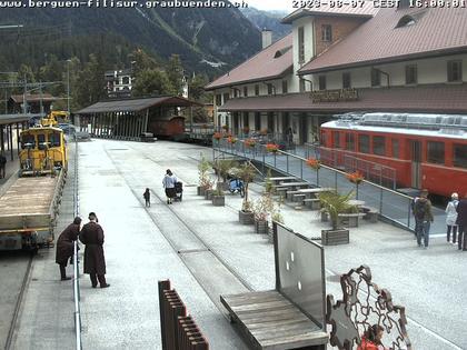 Bergün: Bahnhof