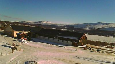 Webcam Hjerkinn: fjellstue (mot Rondane)