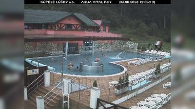 Vista de cámara web de luz diurna desde Lúčky: KÚPELE − a.s