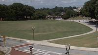 Clemson: Bowman Field from the President's office - El día