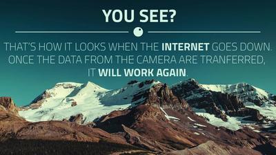 Vue webcam de jour à partir de Rašov: Sport areál Klíny