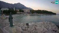 Baska Voda: beach Nikolina - Current