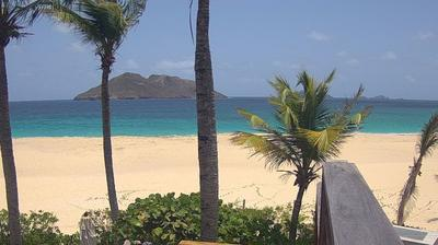 Daylight webcam view from Anse des Flamands