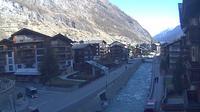 Zermatt: Br�cke zum Steg - Dagtid
