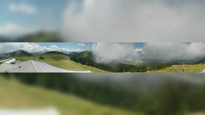 Vista actual o última desde Seltschach: Panoramakamera Dreiländereck