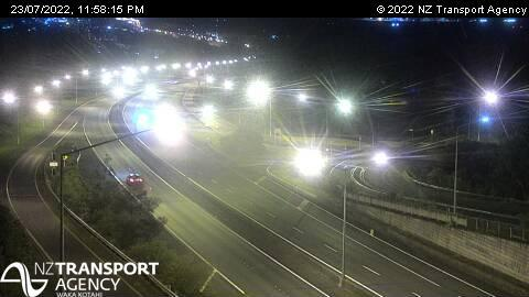 Webcam Greenhithe › West: SH18 Tauhinu Rd Overbridge