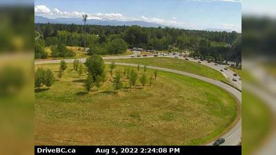 Vista actual o última desde Bradner › South: Fraser Valley, Hwy 1 on ramp from 264th Street, looking south