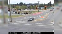 Nanaimo > East: , Hwy , at Comox Rd and Terminal Ave in - looking east - Jour