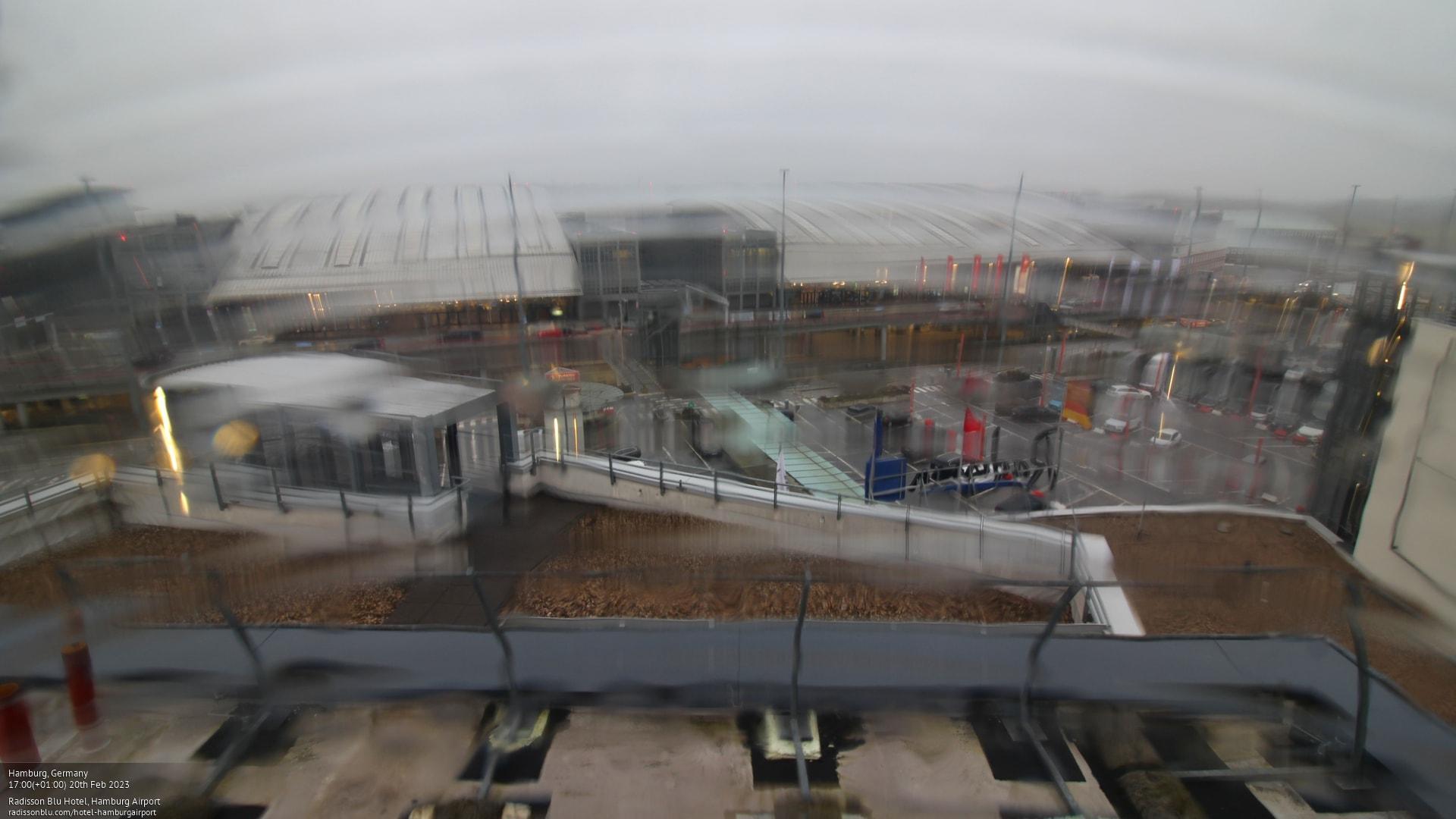 Webcam Hamburg: Radisson Blu Hotel − Airport