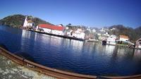 Abelnes: Kirkehamn - Hidra kirke - Hidra - Overdag