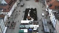 Deggendorf: Oberer Stadtplatz - Dagtid