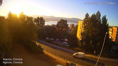 Ajaccio: Webcam de