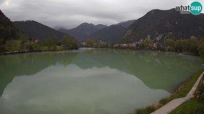 Spletna kamera Most na Soci: Most na Soči lake