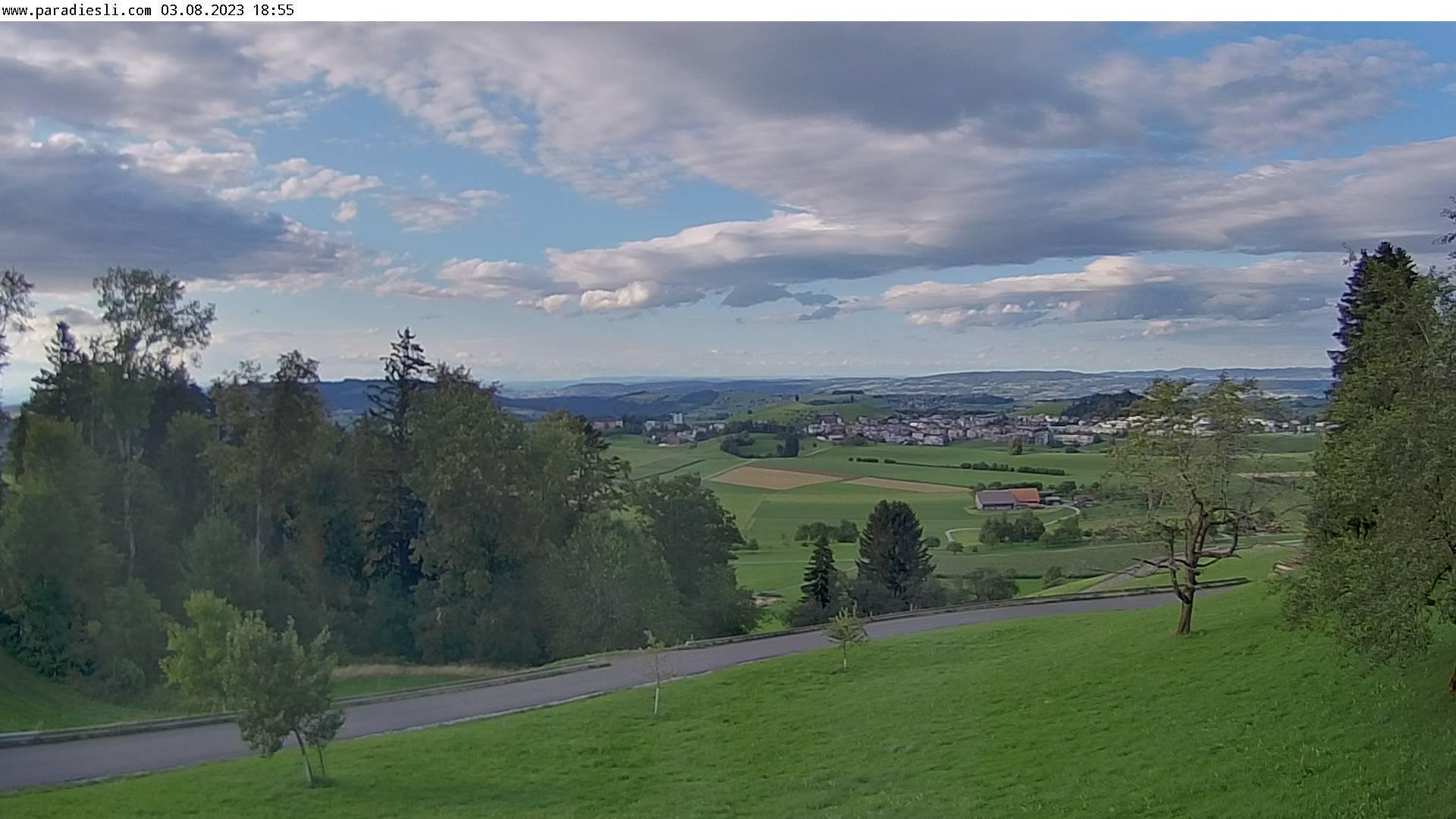 Webcam Menzingen ZG › North: Schurtannen