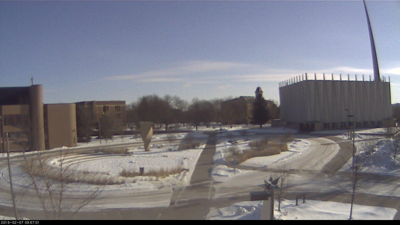 Webcam Saint Peter: West mall construction (looking East)