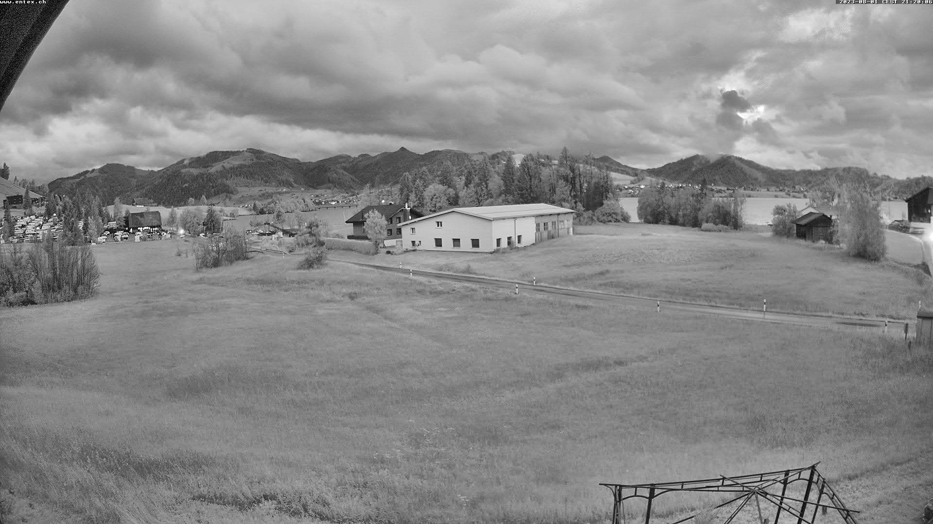 Willerzell: Blickrichtung Sihlsee und Birchli/Einsiedeln
