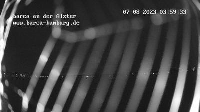 Hamburg-Mitte: Hamburg Außenalster barca Webcam