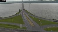 Quebec City › South: Aut.  est à la hauteur du pont de l'Île-d'Orléans: Aut.  est à la hauteur du pont de l'Île-d'Orléans - El día