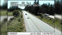Poulsbo › South: SR  at MP : Equestrian Dr Looking South - El día