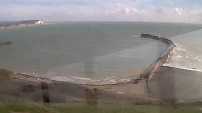 Webcam Newhaven Ferry Port › South: Newhaven Harbour − En