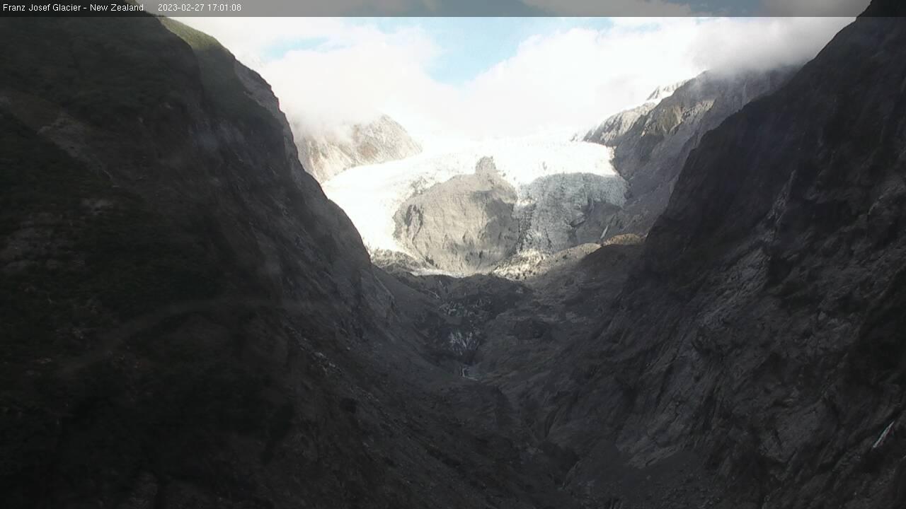 Webcam FRITZ RANGE › South-East: Franz Josef Glacier