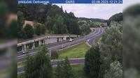 Dernière vue de jour à partir de Brengova: A5, Maribor − Lendava, priključek Cerkvenjak