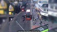 Croydon: Tamworth Rd/North End Rd - El día