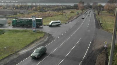 Tageslicht webcam ansicht von Чарнешчына: Polotsk R45 2 km
