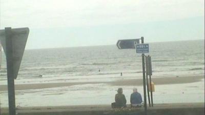 Vista de cámara web de luz diurna desde Tramore