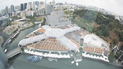 Vista actual o última desde Singapore: Clarke Quay