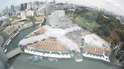 Daylight webcam view from Singapore: Clarke Quay