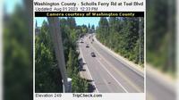 Durham: Washington County - Scholls Ferry Rd at Teal Blvd - El día