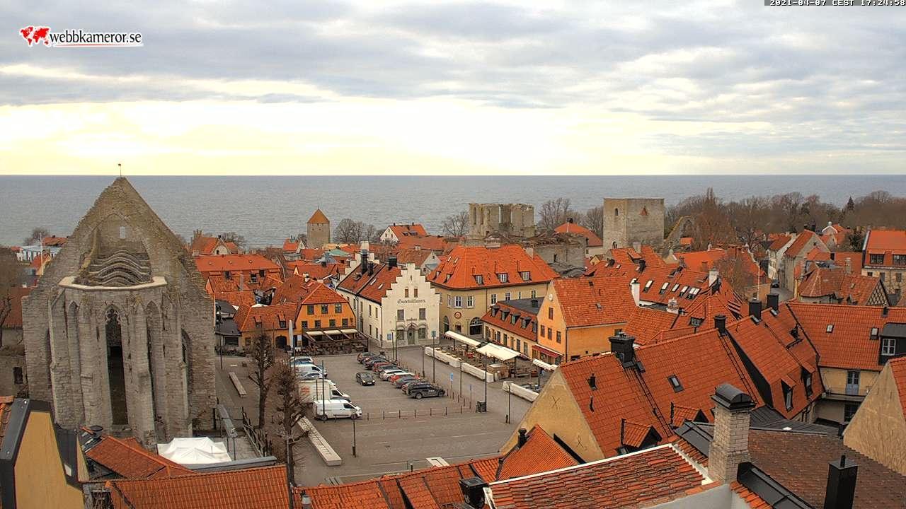 Webkamera Visby: Marktplatz