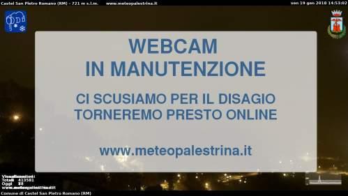 Webcam Castel San Pietro Romano: Provincia di Roma