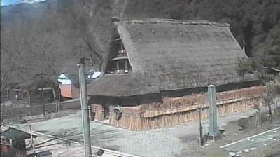 Vue webcam de jour à partir de Gokayama: suganuma