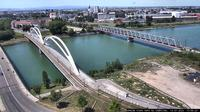 Kehl: Rheinbrücke - Dagtid