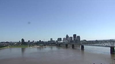 Webcam Jeffersonville: Clark Memorial Bridge