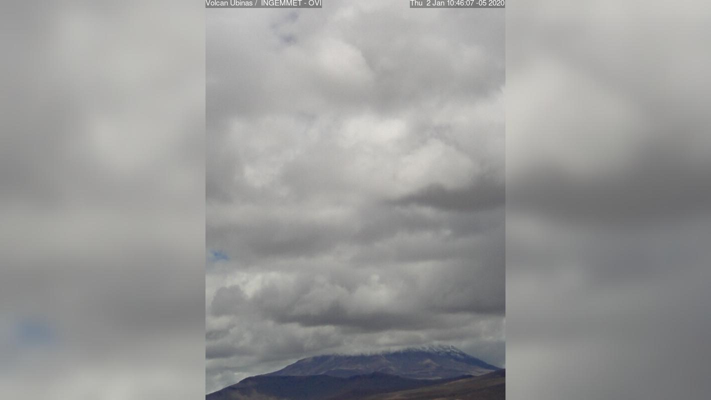 Webkamera Volcán Ubinas: Volcan Ubinas