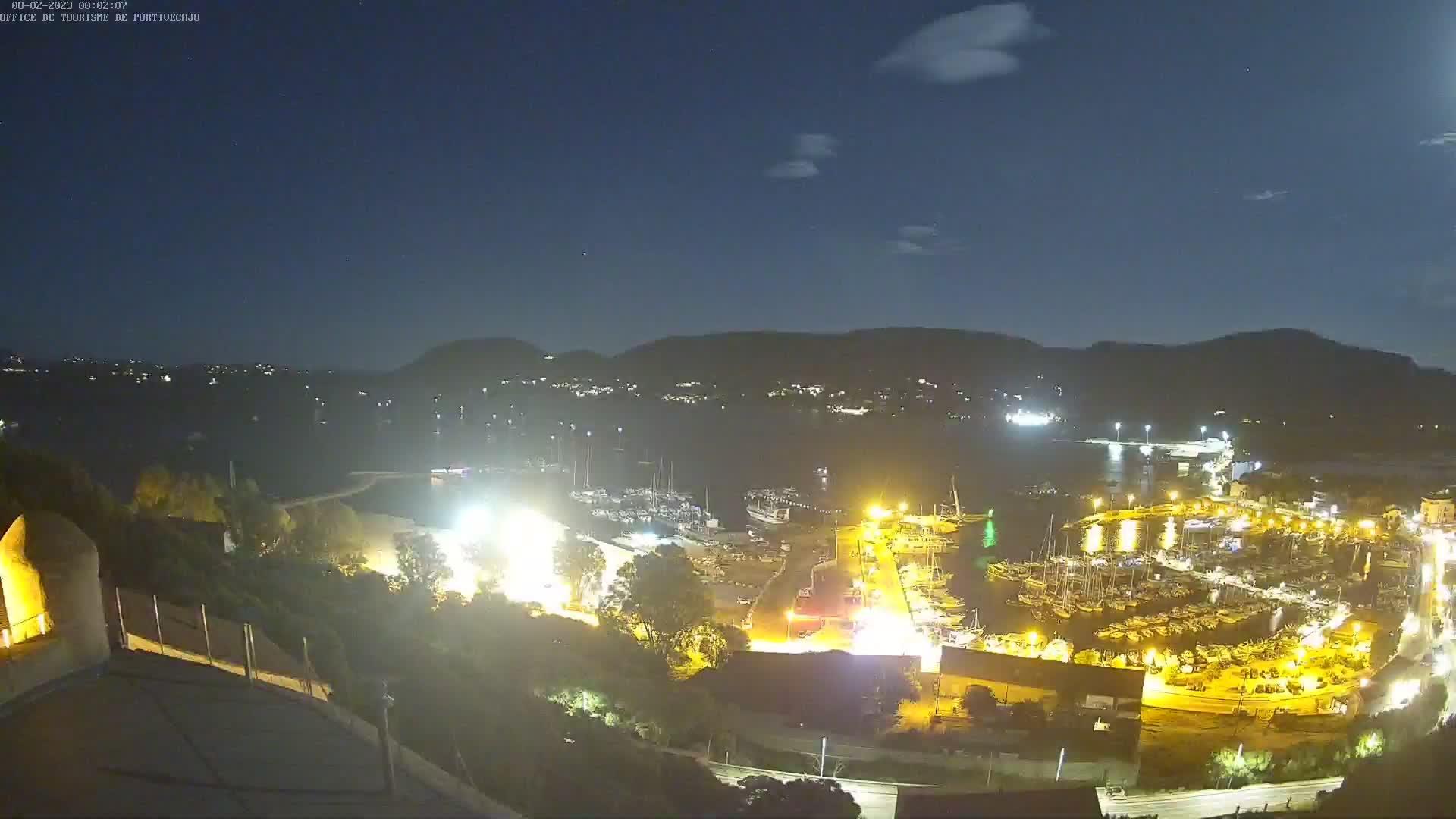 webcam de Barcaggio en Corse météopassion