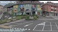 Cossano Belbo: Piedmont - Piazza Giovanni Balbo - Overdag
