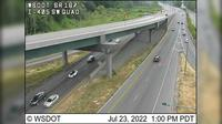 Renton: SR  at MP .: I- Interchange, SW Quad - Dagtid