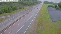 Altuna: Tpl Nybygget (Kameran �r placerad p� Arlandaleden vid trafikplats Nybygget och �r riktad mot Arlanda flygplats) - Overdag