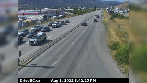 Webcam Batchelor Hills › North: Hwy 5 at Halston Ave in K