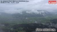St. Johann in Tirol: Kitzb�heler Alpen - St. Johann in - Blick zum Kitzb�heler Horn - Recent